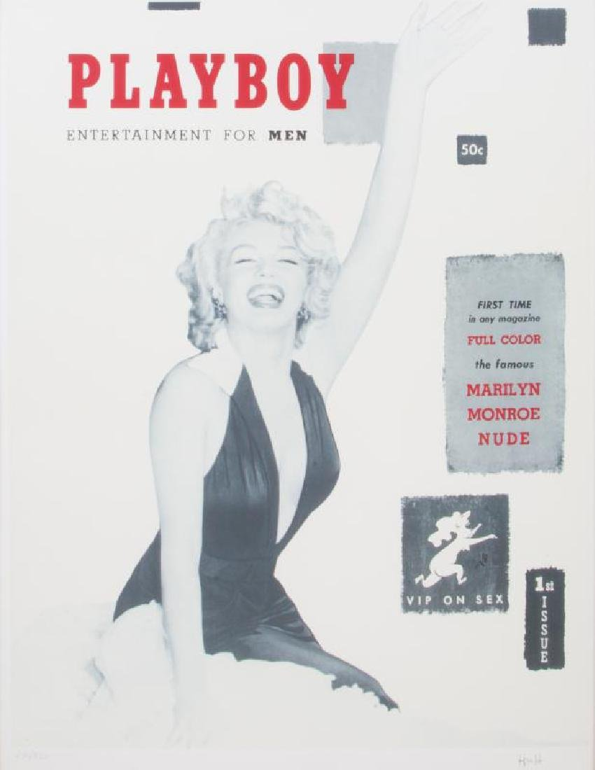 MARILYN MONROE LIMITED EDITION PLAYBOY COVER PRINT