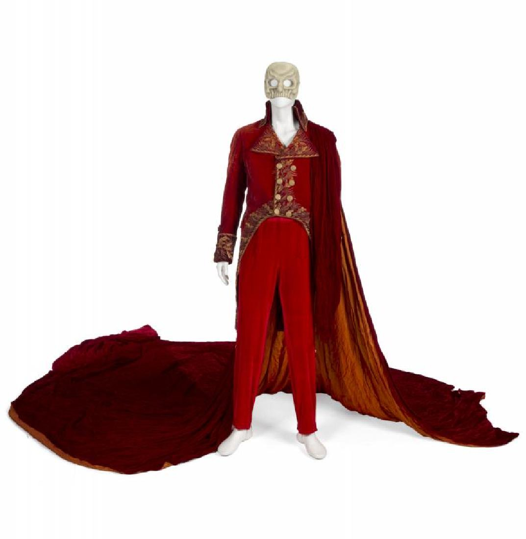 GERARD BUTLER PHANTOM OF THE OPERA RED DEATH TAILCOAT