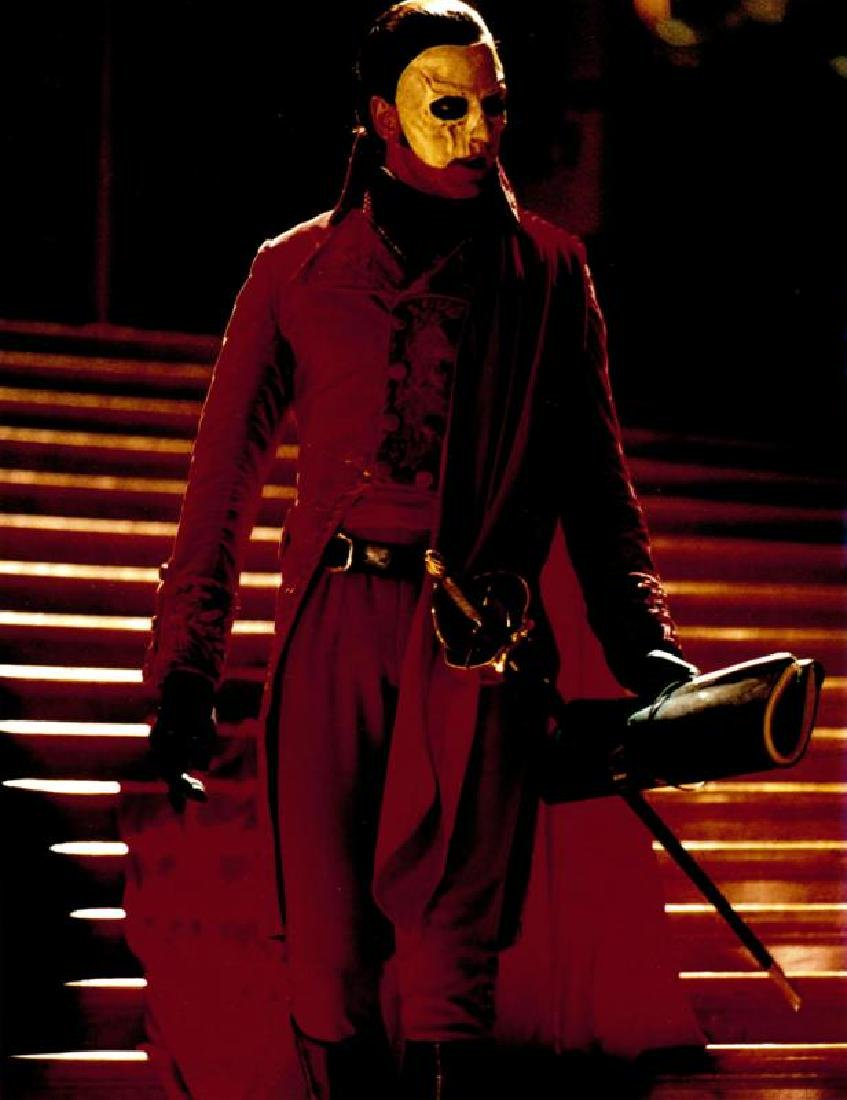 GERARD BUTLER PHANTOM OF THE OPERA RED DEATH TAILCOAT - 4