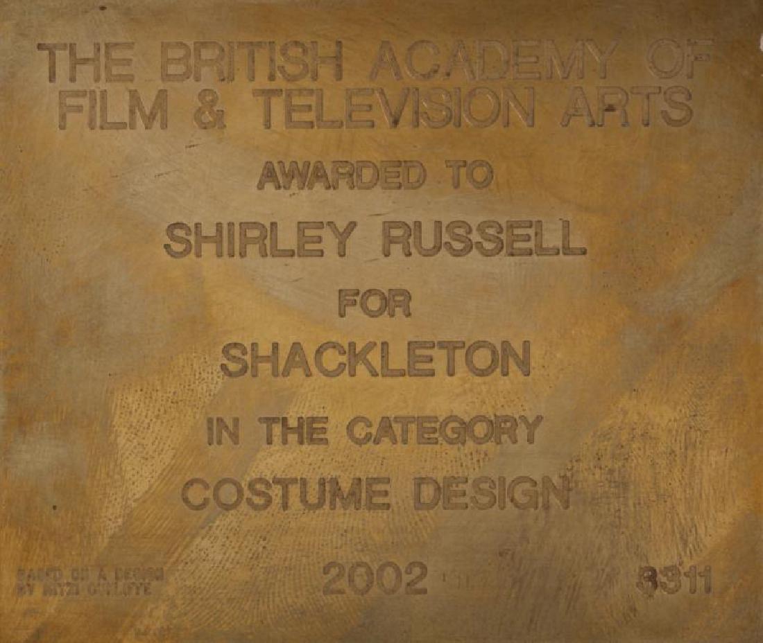 SHIRLEY RUSSELL BAFTA AWARD - 3