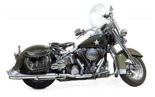 ARNOLD SCHWARZENEGGER HARLEY-DAVIDSON MOTORCYCLE