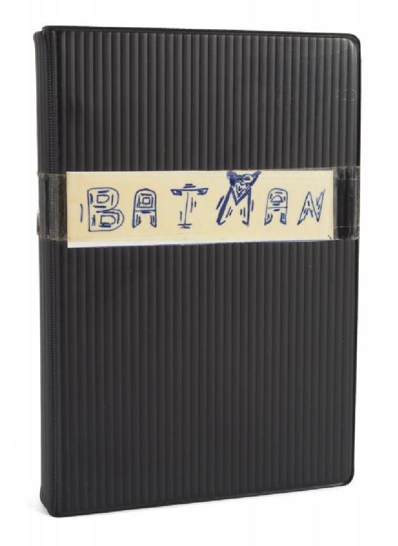 KIM BASINGER BATMAN USED SCRIPT