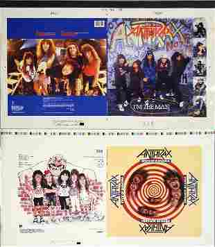Anthrax I'm The Man Original Camera Artwork