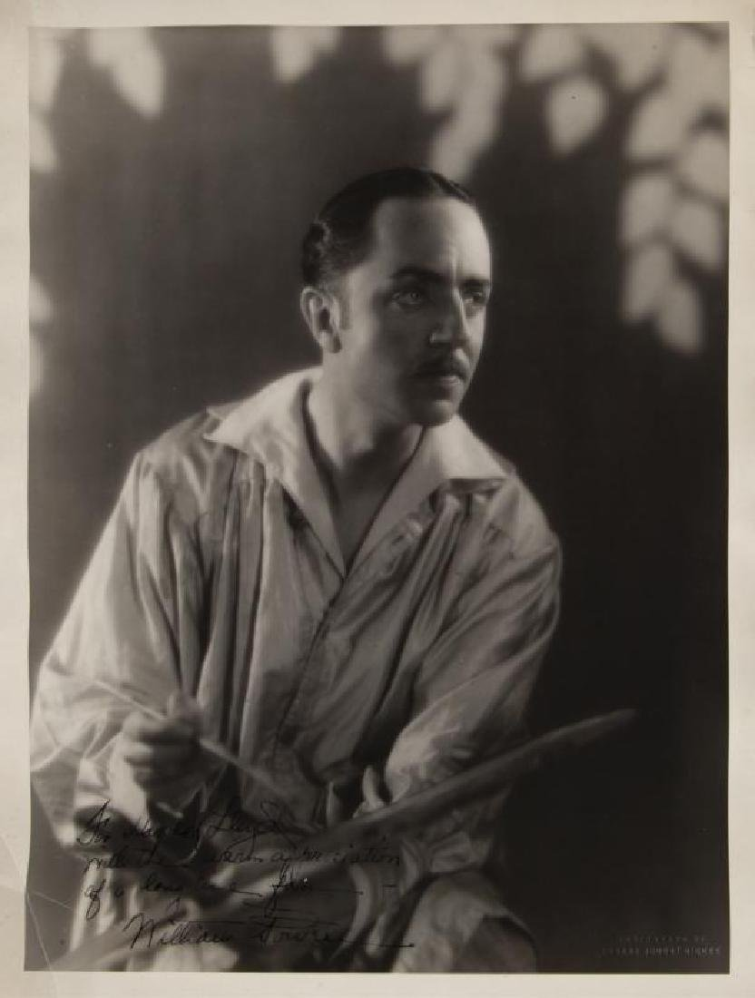 HAROLD LLOYD WILLIAM POWELL SIGNED PHOTOGRAPH