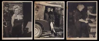 MARILYN MONROE VINTAGE PHOTOGRAPHS