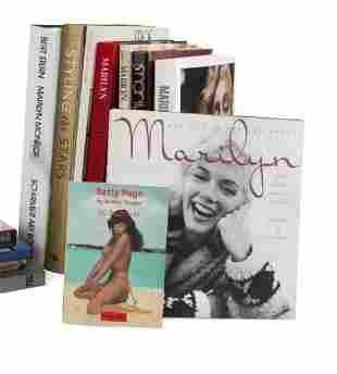 HUGH HEFNER MARILYN MONROE BOOKS