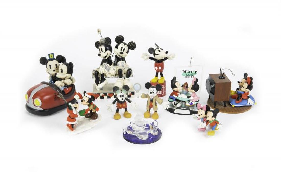 HUGH HEFNER DISNEY FIGURINES