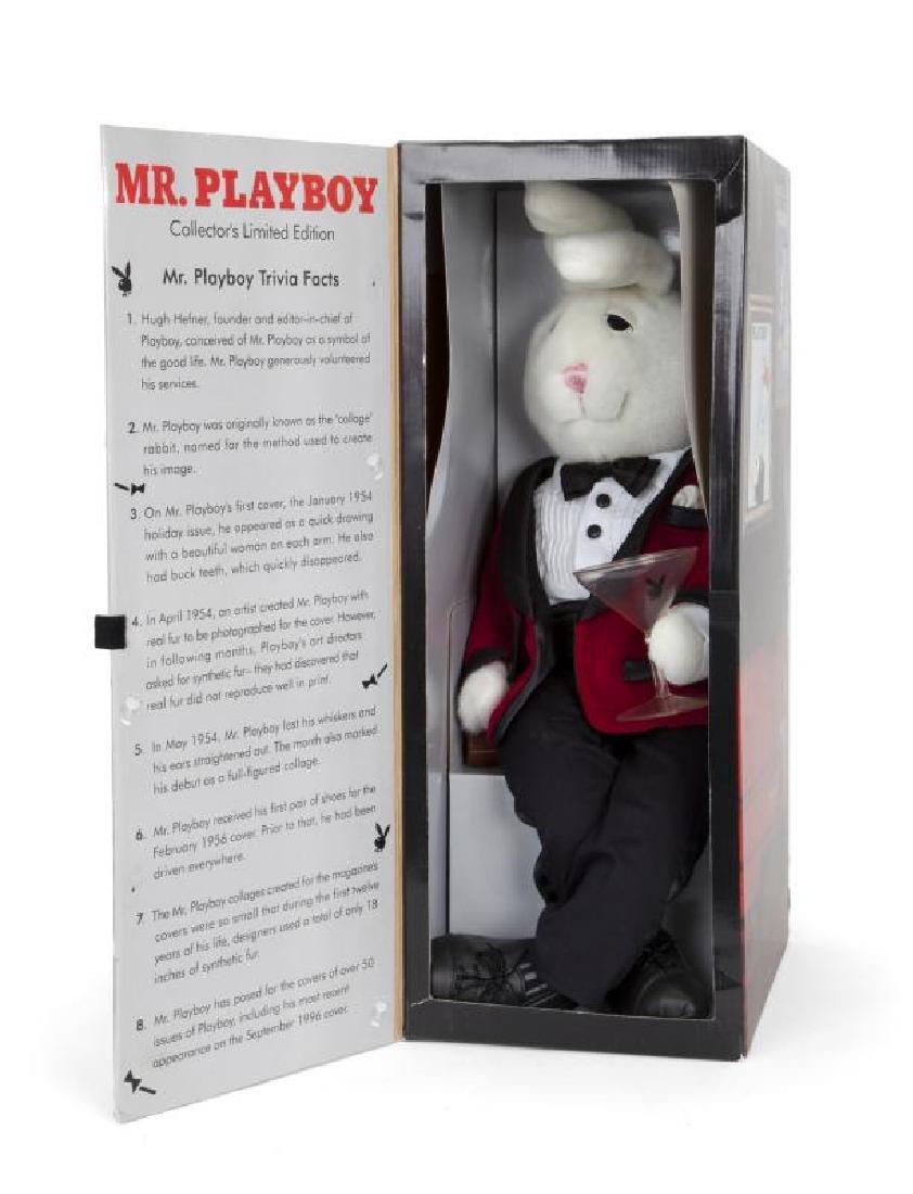 HUGH HEFNER MR. PLAYBOY COLLECTOR'S EDITION RABBIT