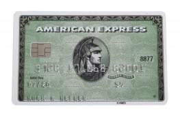 HUGH HEFNER AMERICAN EXPRESS AND VISA CARDS