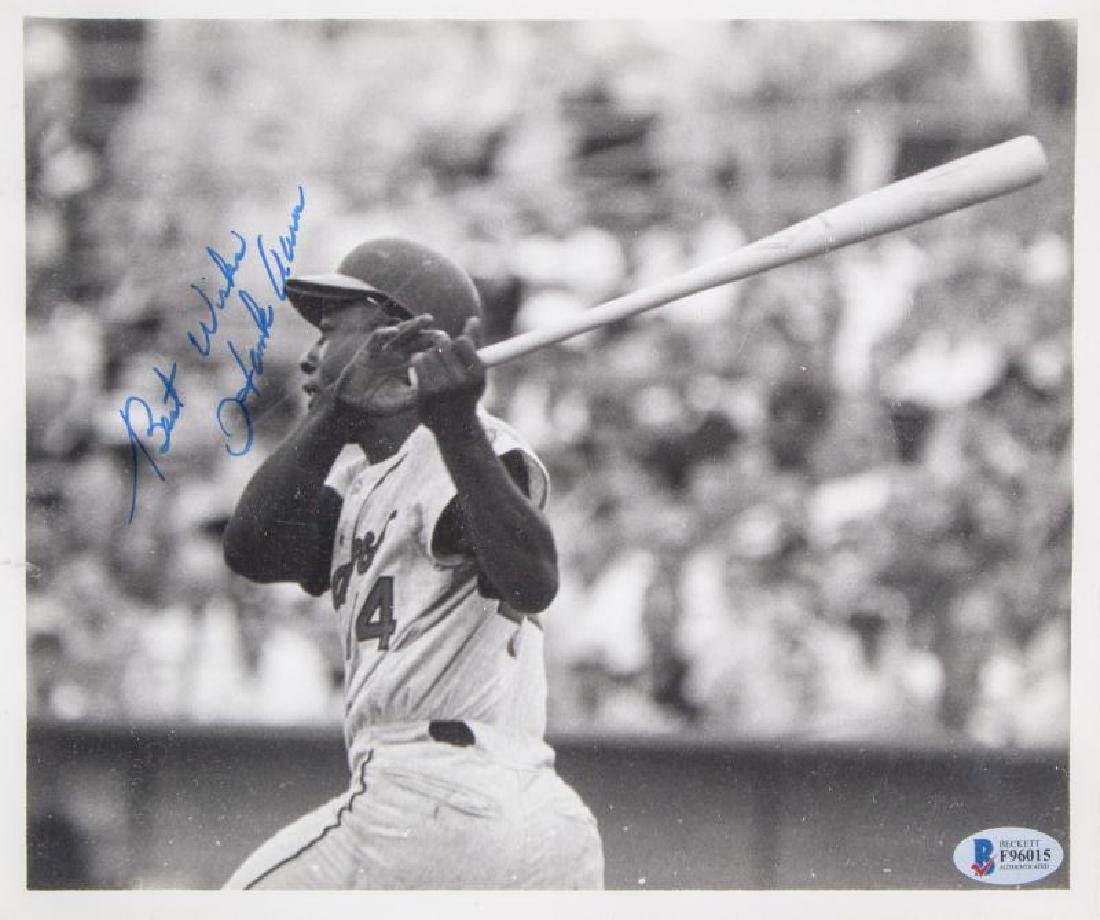 BASEBALL HALL OF FAME INDUCTEES SIGNED PHOTOGRAPHS