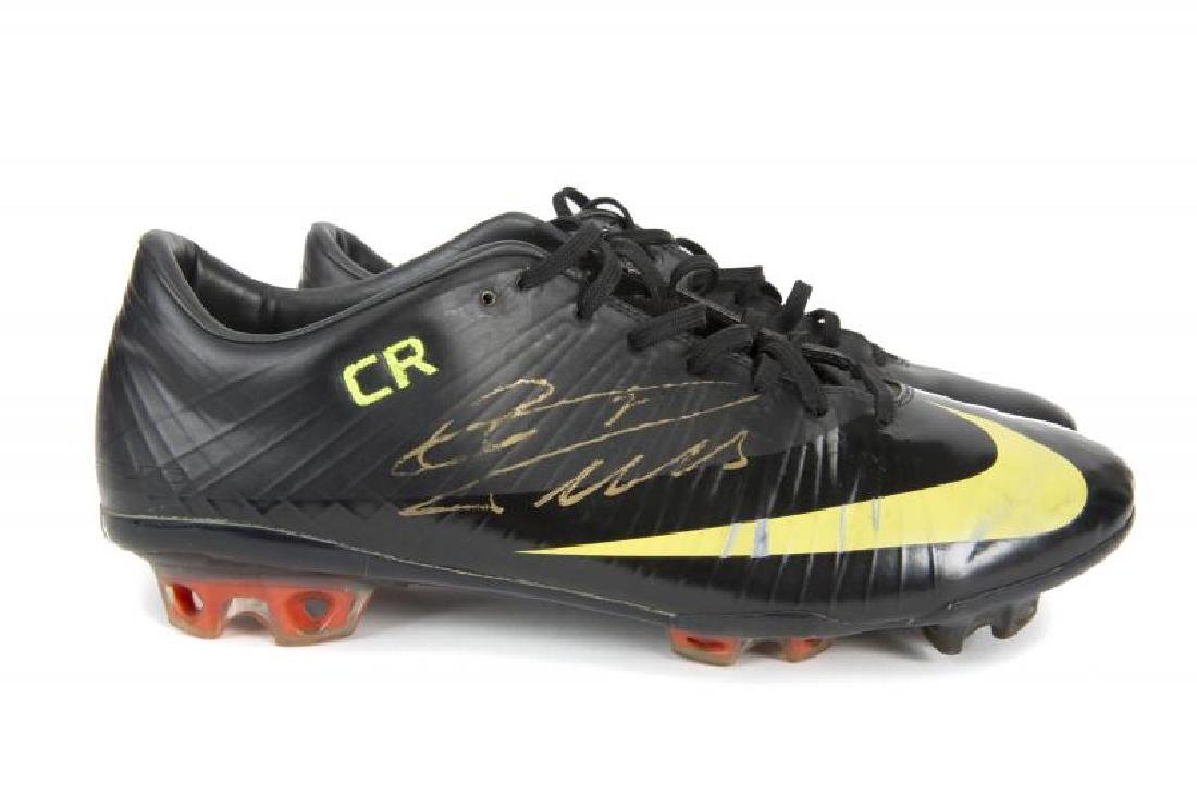 new style c32cb f3a14 CRISTIANO RONALDO SIGNED AND MATCH WORN REAL MADRID