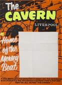 THE CAVERN CLUB LIVERPOOL BLANK CONCERT POSTER