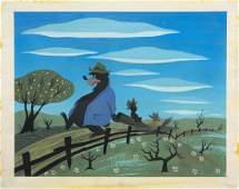 WALT DISNEY MARY BLAIR SONG OF THE SOUTH CONCEPT ART