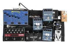 WALTER BECKER MAIN STAGE USED PEDAL BOARD