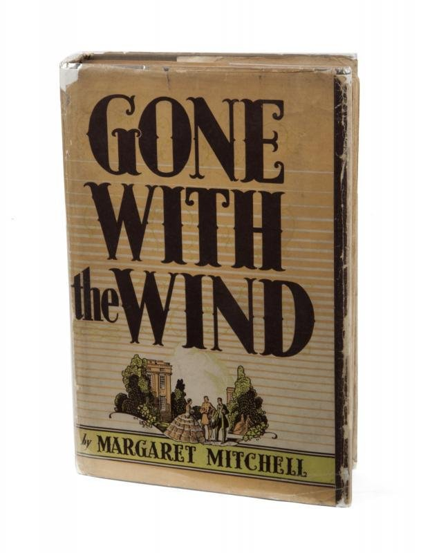GONE WITH THE WIND FIRST EDITION SIGNED BY MARGARET