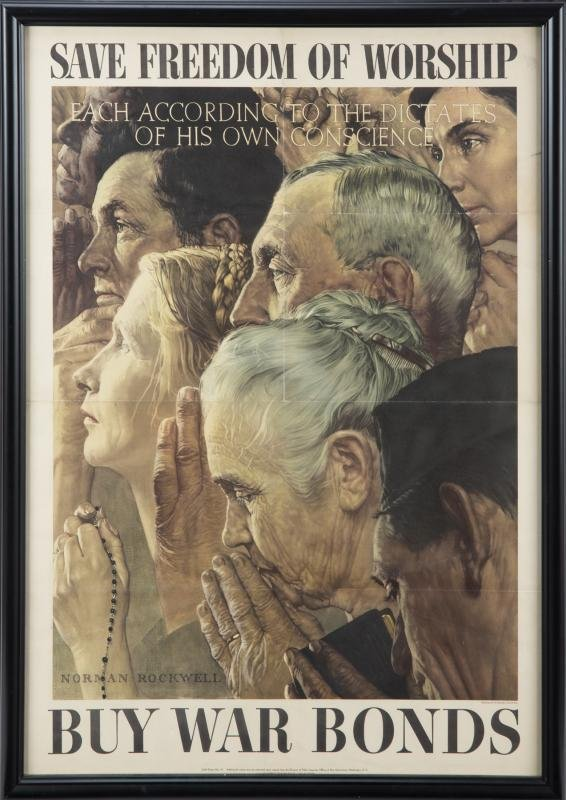 NORMAN ROCKWELL OWI POSTER NO. 43