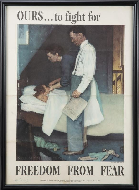 NORMAN ROCKWELL OWI POSTER NO. 46