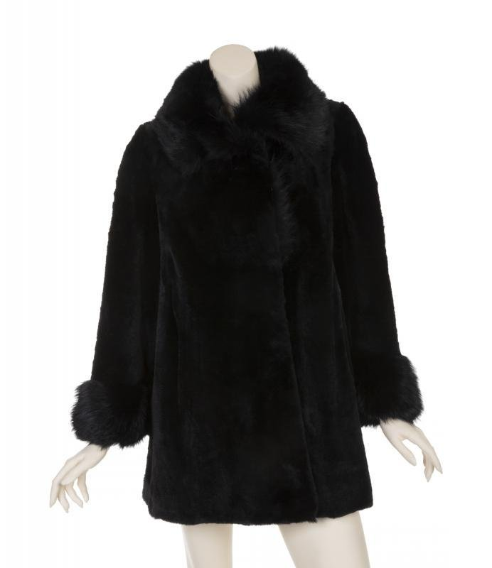 BETTE DAVIS KANGAROO FUR COAT