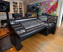 T Bone Burnett API Console from Sunset Sound Studio •