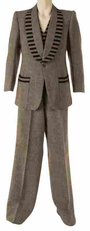 """ELTON JOHN OWNED AND WORN """"PIANO"""" SUIT •"""
