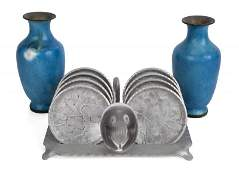MAE WEST DECORATIVE ITEMS AND PHOTOGRAPH