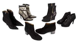 OLIVIA NEWTONJOHN ANKLE BOOTS INCLUDES EVENT WORN