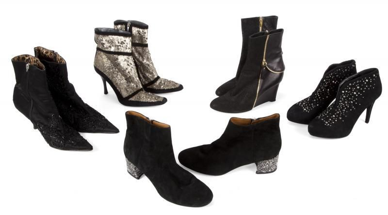 OLIVIA NEWTON-JOHN ANKLE BOOTS, INCLUDES EVENT WORN