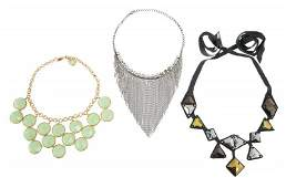 OLIVIA NEWTONJOHN STATEMENT NECKLACES INCLUDES GLEE