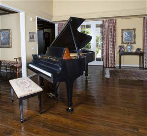FRANK AND NANCY SINATRA STEINWAY & SONS GRAND PIANO