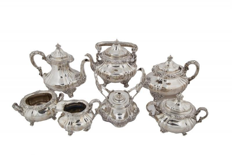 SINATRA GORHAM STERLING SILVER TEA AND COFFEE SERVICE