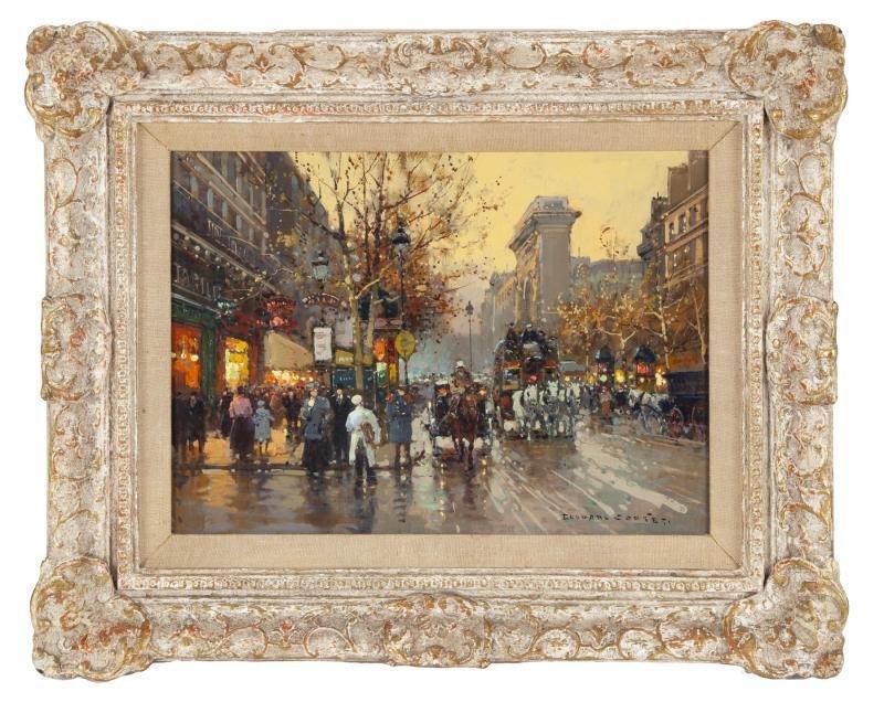 SINATRA: EDOUARD LEON CORTES (FRENCH, 1882-1969)