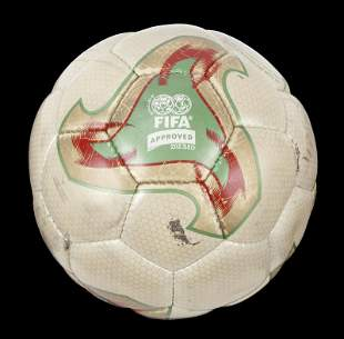 2002 WORLD CUP FINALS MATCH USED FOOTBALL