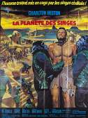 PLANET OF THE APES FRENCH FILM POSTER