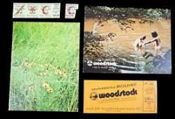 JIMI HENDRIX GROUP OF WOODSTOCK FESTIVAL PROGRAM,
