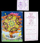 ISLE OF WIGHT FESTIVAL PROGRAM, HANDBILL AND TICKET