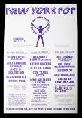 NEW YORK POP FESTIVAL 1970 POSTER