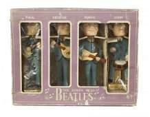 THE BEATLES BOBB'N HEAD DOLL FIGURES IN ORIGINAL BOX