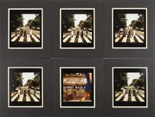 THE BEATLES SET OF ABBEY ROAD PHOTOGRAPHS BY IAIN
