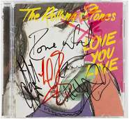 THE ROLLING STONES MULTI-SIGNED CD
