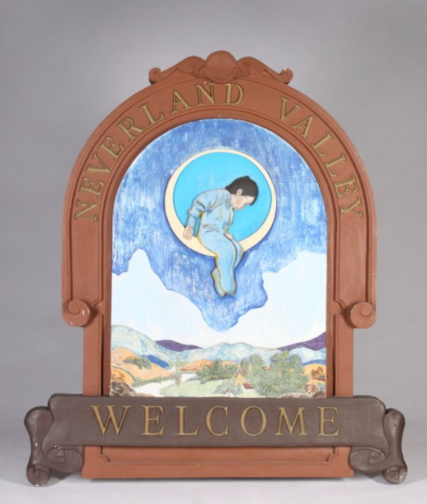 1: WOOD AND COMPOSITION NEVERLAND SIGN