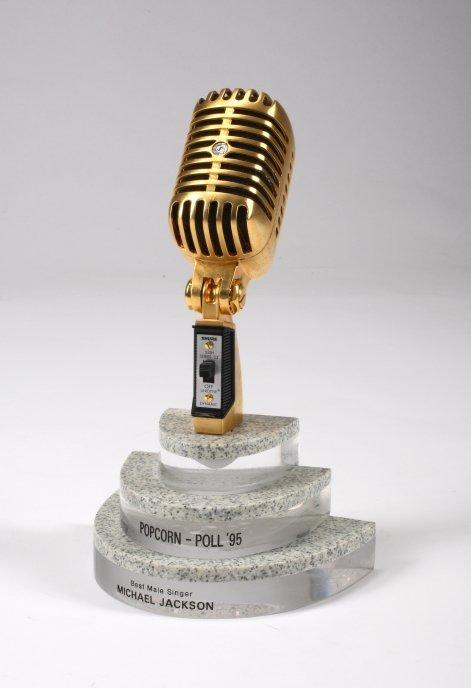 1087: MICHAEL JACKSON POPCORN - POLL AWARD
