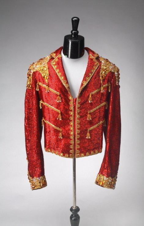1141: MICHAEL JACKSON COSTUME JACKET