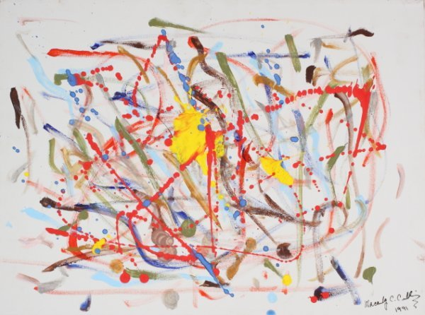 1169: MICHAEL JACKSON AND MACAULAY CULKIN ORIGINAL ART - 2