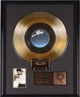 MICHAEL JACKSON RIAA RECORD AWARD