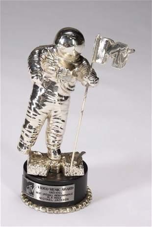 MICHAEL JACKSON MTV AWARD