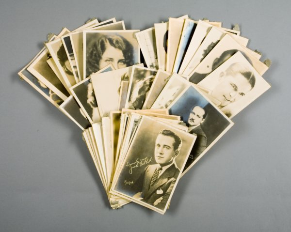 1: COLLECTION OF SILENT FILM STAR PROMOTIONAL PHOTOGRAP