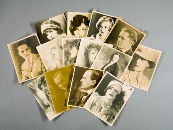 4: SILENT FILM STAR PROMOTIONAL PHOTOGRAPHS