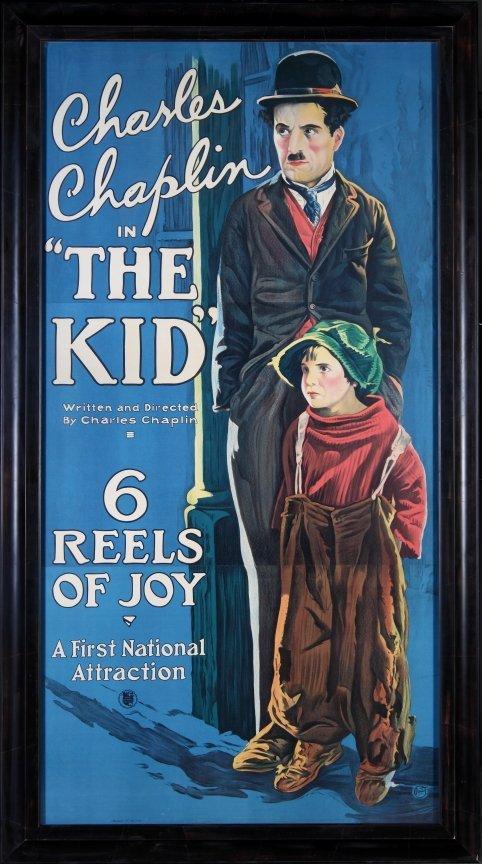 "6: CHARLIE CHAPLIN ""THE KID"" POSTER"