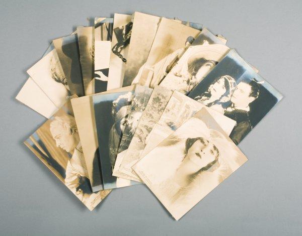 8: MENNEN SILENT FILM STAR PUBLICITY PHOTOGRAPHS