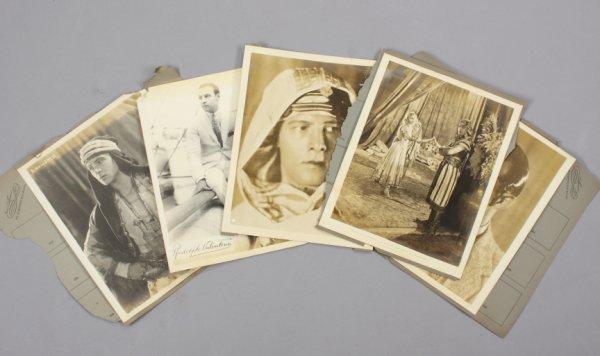 "9: ""SON OF SHEIK"" PUBLICITY PHOTOGRAPHS"